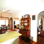 Creek St River House kitchen dining - Nambucca Heads holiday rentals - holiday lettings. Mid North Coast accommodation near Valla Beach