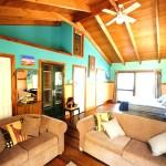 Sanctuary Bush to Beach House main bedroom - Nambucca Heads holiday rentals - holiday lettings. Mid North Coast accommodation near Valla Beach